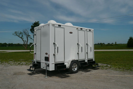 Portable Restroom Trailers for rent